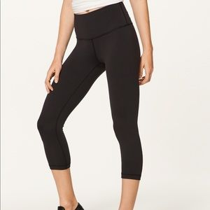 Lululemon Wunder Under Crop (Hi-Rise)